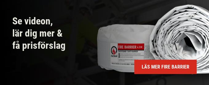 Se videon,  lär dig mer &  få prisförslag   Läs mer Fire barrier