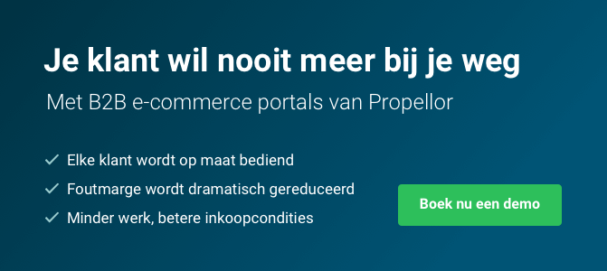 Button B2B e-commerce portals van Propellor