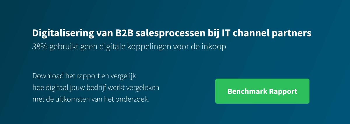 button digitalisering van b2b salesprocessen bij IT channel partners