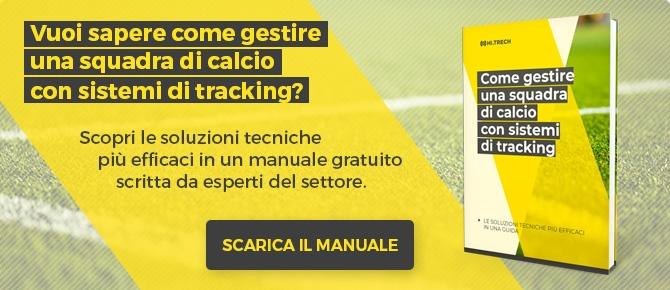 Scarica il manuale per gestire una squadra di calcio con sistemi di tracking