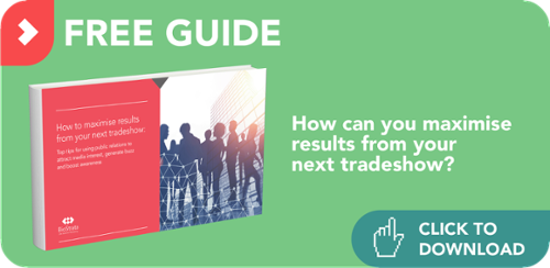 How can you maximise results from your next tradeshow?