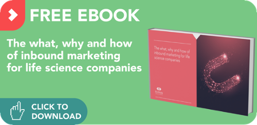 Download free eBook: The what, why and how of inbound marketing for life science companies