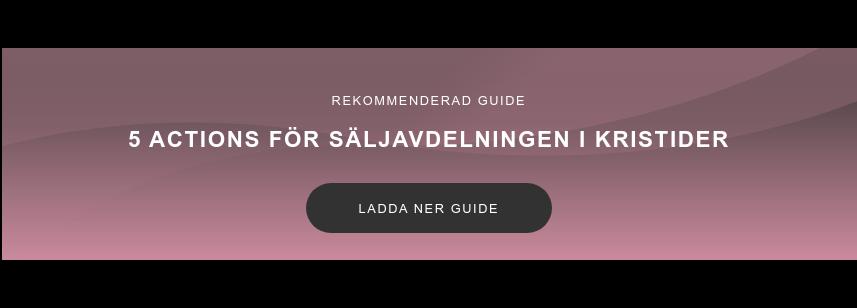 Rekommenderad guide  5 actions för säljavdelningen i kristider Ladda ner guide