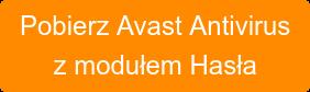 Pobierz Avast Antivirus z modułem Hasła
