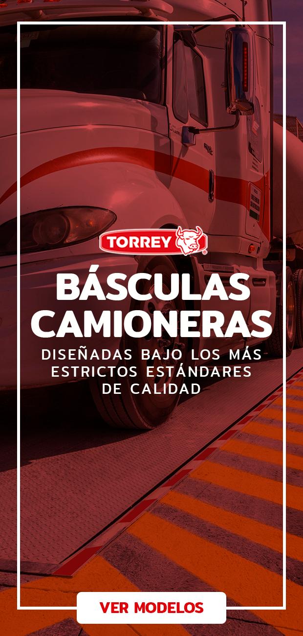Básculas camioneras Torrey
