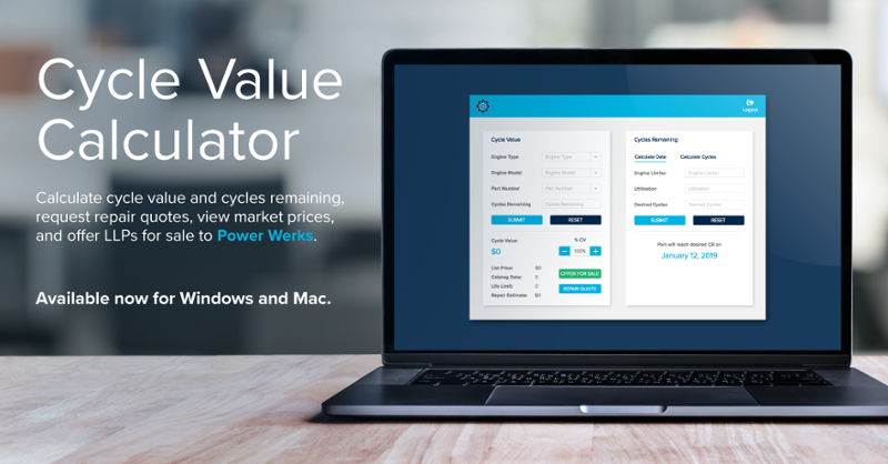 Cycle Value Calculator is coming soon to Windows and Mac.