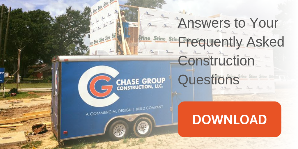 Construction FAQ Chase Group Lafayette Louisiana