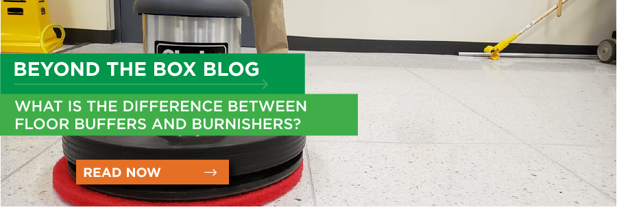 What is the Difference Between Floor Buffers and Burnishers?