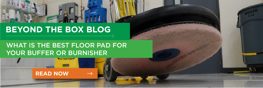 What is the best floor pad for your buffer or burnisher?