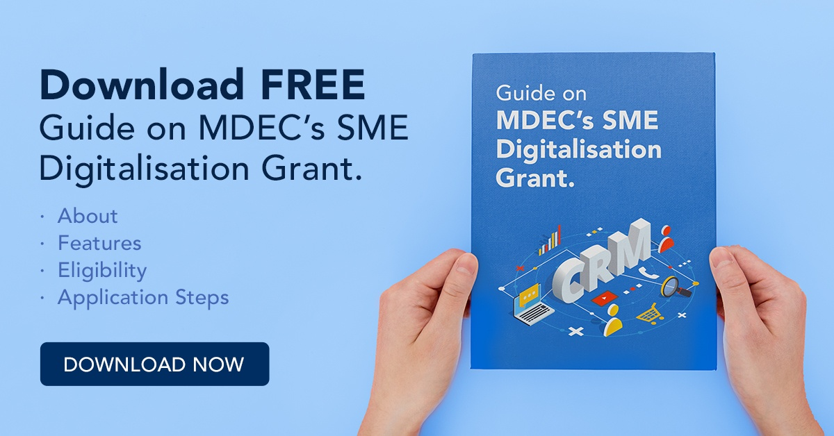 MDEC's Digitalisation Grant