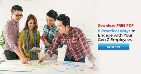 FREE Download : 8 Practical Ways to Engage with Your Gen Z Employees