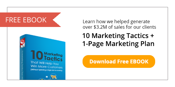 Download Free 10 Marketing Tactics + 1-Page Marketing Plan eBook