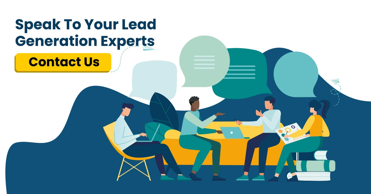 Lead generation experts, landing page experts, contact us