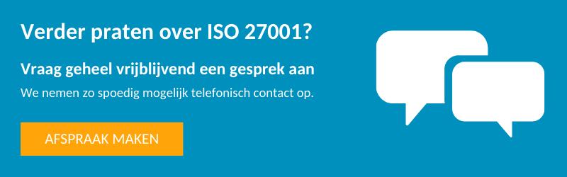 Aanvraag offerte ISO 27001
