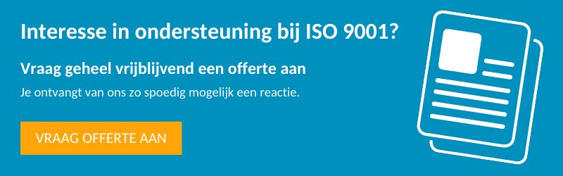 Gesprek aanvragen ISO 9001
