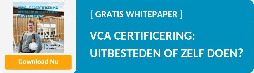 Download VCA certificering uitbesteden of zelf doen?