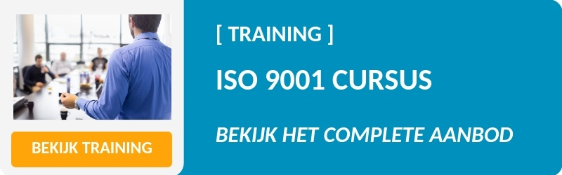 Cursusaanbod ISO 9001 training