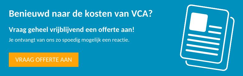 VCA offerte aanvragen - Snel