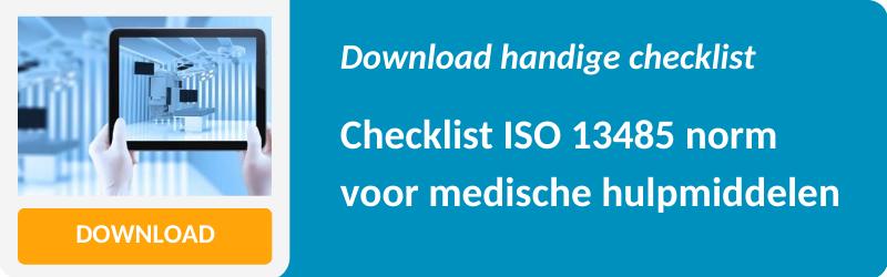 ISO 13485 checklist