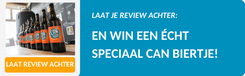 Laat je review over ons CAN Beer achter