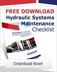 Hydraulic Systems Maintenance Checklist