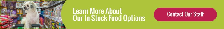 Learn More About Our In-Stock Food Options