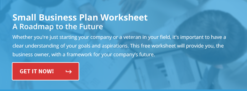 Small Business Plan Worksheet