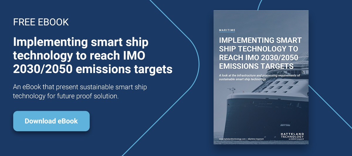 Download ebook: Implementing smart ship technology to reach IMO2030/2050 emissions targets