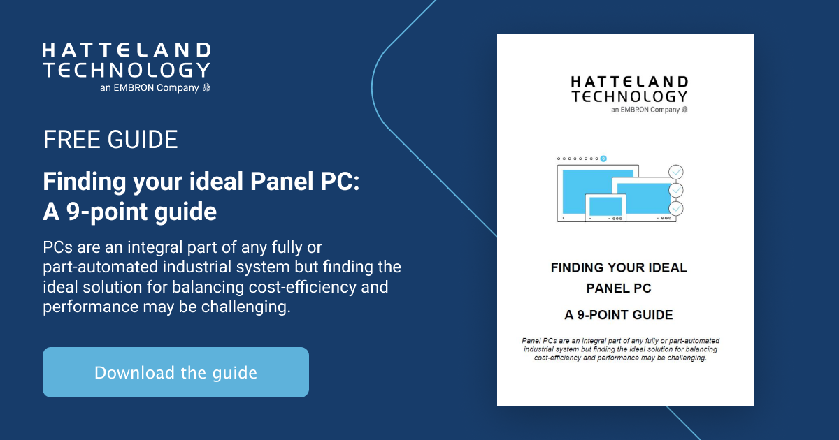 Finding your ideal Panel PC