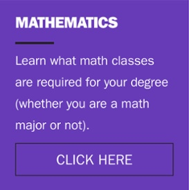 learn what mathematics classes are required for your degree whether you are a math major or not