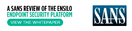 SANS review of ensilo