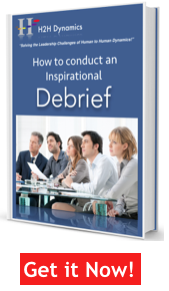 How to conduct an inspirational debrief