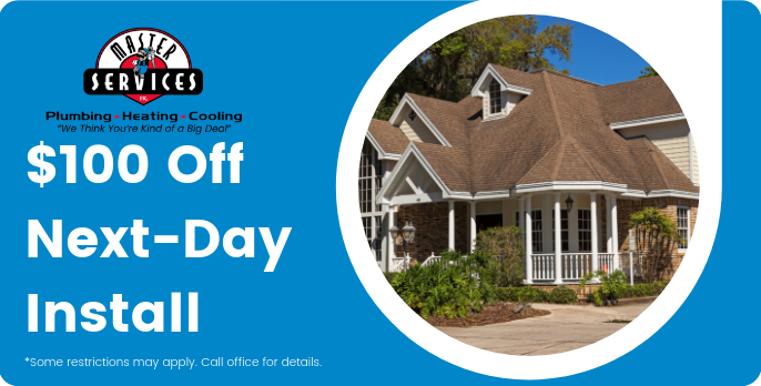 $100 Off Next Day Install