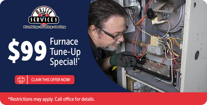 Master Services $99 Furnace Tune-Up Special