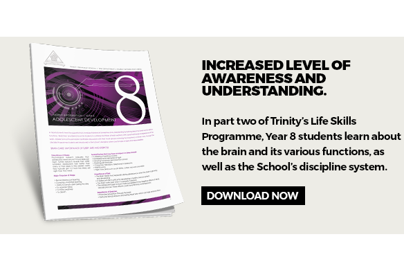 Trinity's Year 8 life skills programme download