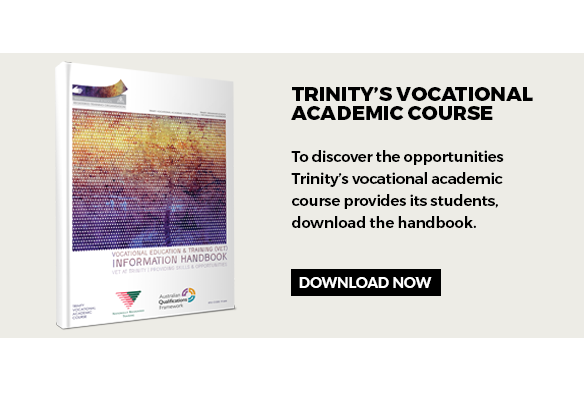 Trinity's Vocational Academic Course handbook download