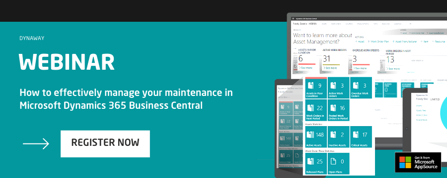 EAM for Business Central