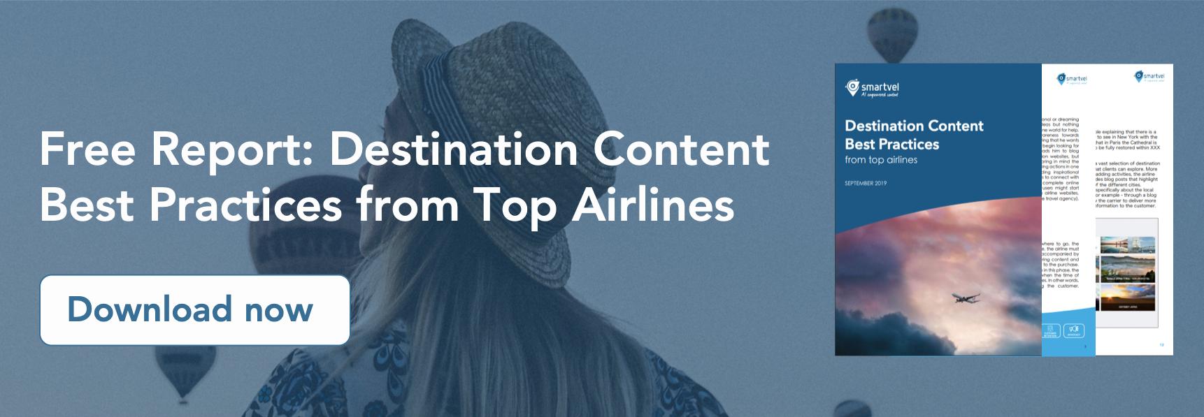 airlines best practices content