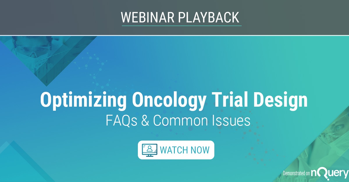 Optimizing Oncology Trial Design FAQs & Common Issues
