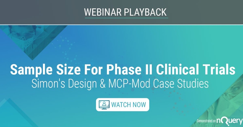 Sample Size for Phase II Clinical Trials - Watch Now