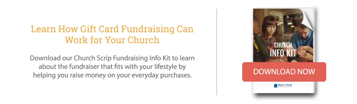Download the Church Scrip Fundraising Info Kit