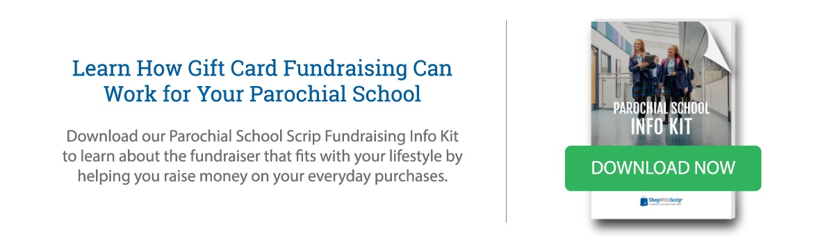 Download the Parochial School Scrip Fundraising Info Kit