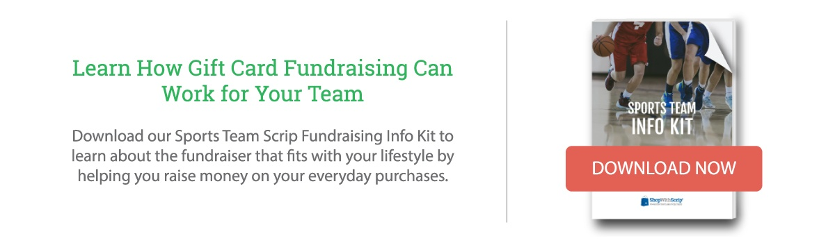 Download the Sports Team Scrip Fundraising Starter Kit