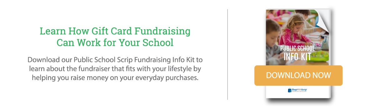 Download the Public School Scrip Fundraising Starter Kit