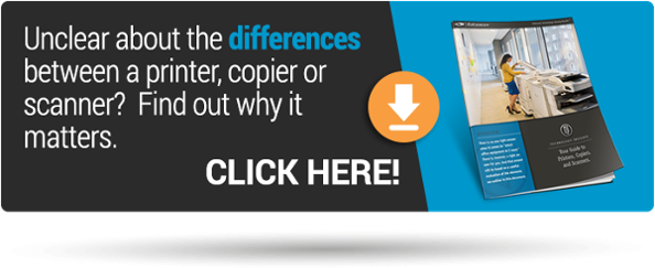 Learn about the differences between copiers, printers, and scanners.