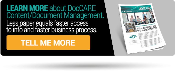 Discover Document Management Solutions   with docCare from Datamax