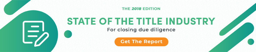 Download PropLogix's State of the Industry for Closing due diligence Report