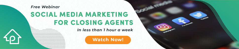 Phone with Social Media Apps - Social Media Marketing for Closing Agents