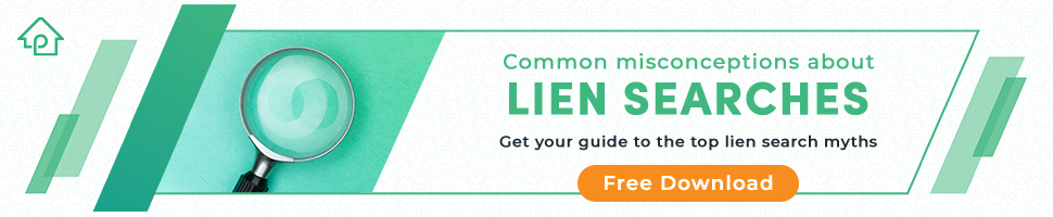 common misconceptions about lien searches