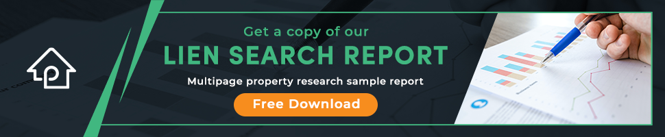 PropLogix Free Lien Search Sample Report Download